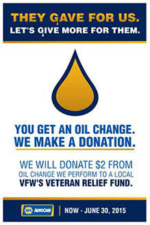Oil Change $2.00 Donation Fundraiser | Springs Auto, Truck & RV Service Center